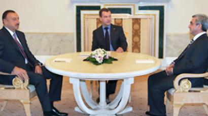 Medvedev vows further help in Nagorno-Karabakh dispute settlement