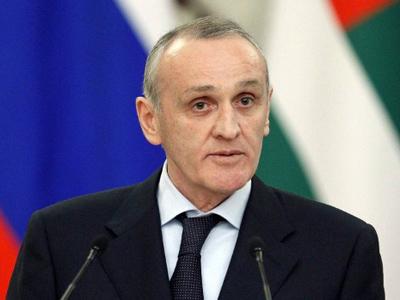 Abkhazian President Alexander Ankvab (AFP Photo / Pool / Ivan Sekretarev)