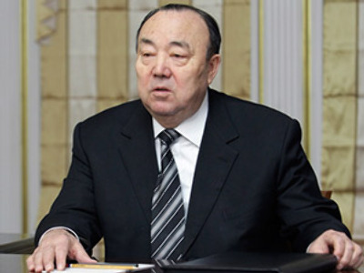 Bashkiria republic's head steps down