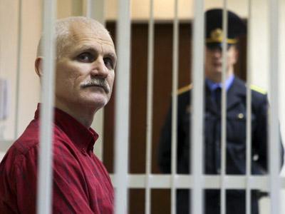 Ales Belyatsky sentence announced. (RIA Novosti/Andrei Aleksandrov)