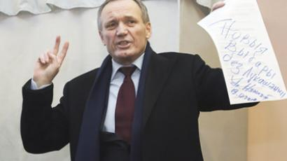 Former Belarusian presidential candidate nominated for Nobel