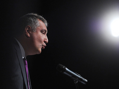 Dmitry Rogozin (RIA Novosti / Kirill Kallinikov)