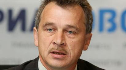 United Civil Party leader Anatoly Lebedko. (RIA Novosti / Vladimir Fedorenko)