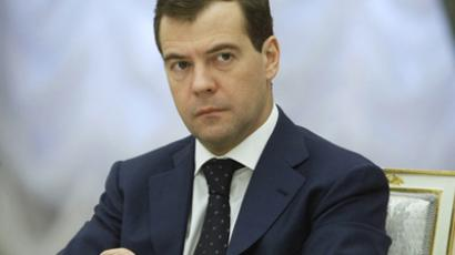 Medvedev praises progress on New START as a major achievement of 2010