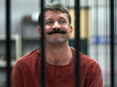 Viktor Bout (AFP Photo / Pornchai Kittiwongsakul)