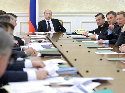 """Better to work than complain"" – Putin to the Cabinet"