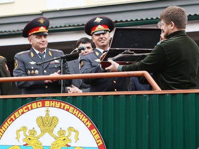 Police day celebrations in Chechnya/ RIA Novosti / Said Carnaev