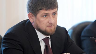 Chechnya's Head Ramzan Kadyrov (AFP Photo / Aleksey Nikolskyi)