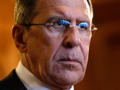 Russia's Foreign Minister Sergei Lavrov.(Reuters / Maxim Shemetov)