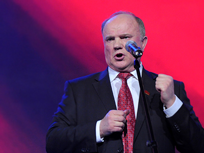 Russia's Communist Party leader Gennady Zyuganov. (AFP Photo / Kirill Kudryavtsev)