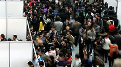Unemployment grows as the economy slows in China