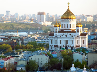Cathedral of Christ the Savior, Moscow (RIA Novosti / Alexander Vilf)