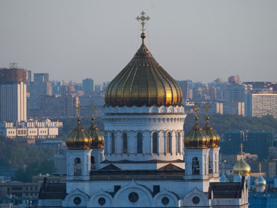 Cathedral of Christ the Savior.(RIA Novosti / Alexander Vilf)