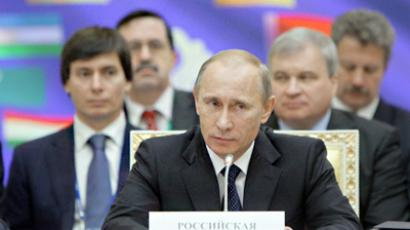 Putin promotes 'Eurasian Schengen' in first program article