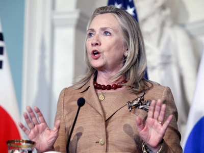 Clinton misfires on Russian helicopters to Syria charge