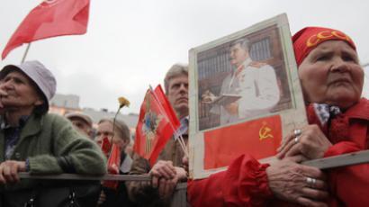 Communist Party supporters (RIA Novosti / Valeriy Melnikov)