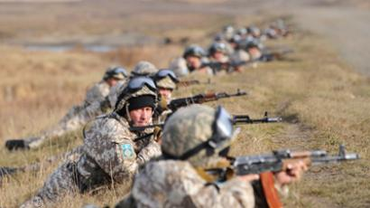 CSTO soldiers on maneuvers (RIA Novosti / Pavel Lisitsyn