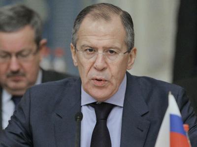Russian Foreign Minister Sergey Lavrov (RIA Novosti / Vitaliy Belousov)