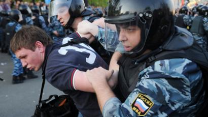 Russian court issues first 'Bolotnaya' verdict: Protester jailed for 4.5 years