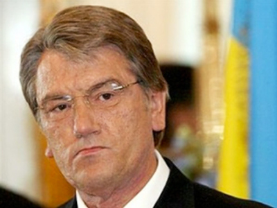 Despite dismal standings in the polls, Yushchenko keeps fighting