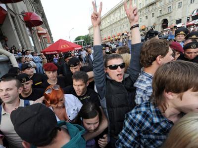 "Dozens of ""revolutionaries"" reportedly detained in Belarus"