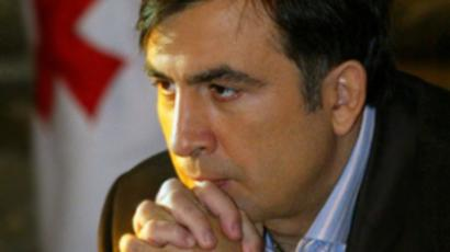 Saakashvili in Prague amid domestic unrest