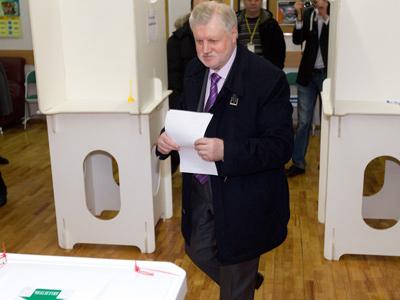 Russian presidential candidate Sergei Mironov (RIA Novosti / Vitaliy Belousov)