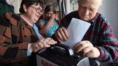 Race for the presidency: Russia hits the polls (PHOTOS)