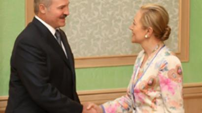 Belarus' president seems less content with Europe