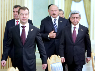 Customs Union given a start at 10th EurAsEC summit