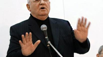 Gorbachev gets German award for knowledge and responsibility