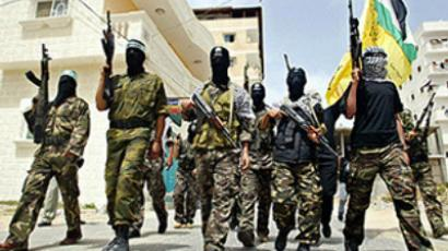 Armed Fatah militants