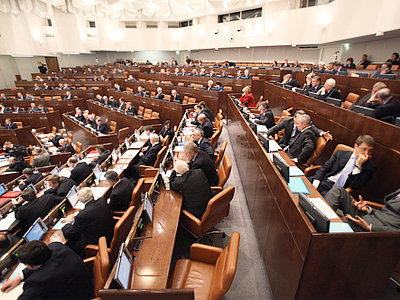 "Federation Council speaker ""does not plan"" to run for presidency"