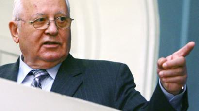 Gorbachev feels Soviet past in present plans