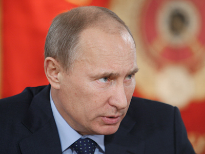 Russian Prime Minister Vladimir Putin (RIA Novosti / Igor Zarembo)
