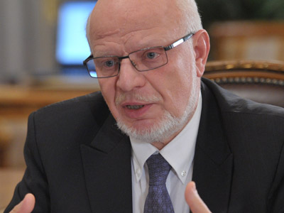 Chairman of the Presidential Council for Civil Society and Human Rights Mikhail Fedotov (RIA Novosti/Aleksey Nikolskyi)