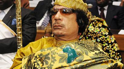 Fighting terrorism: Mr Gaddafi says jihad will engulf the region if Libya's rebels win (AFP Photo / Simon Maina)