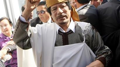 Muammar Gaddafi (AFP Photo / Mahmud Turkia)