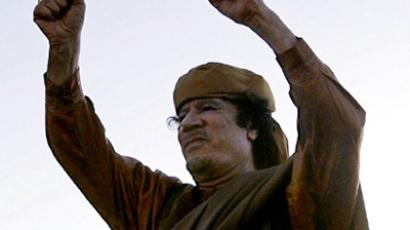 Libyan leader Muammar Gaddafi  (AFP Photo / Joseph Eid)