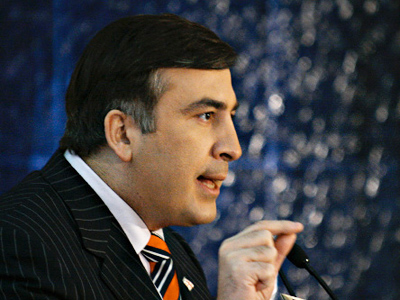 Georgian President Mikhail Saakashvili (RIA Novosti / David Khizanashvili)