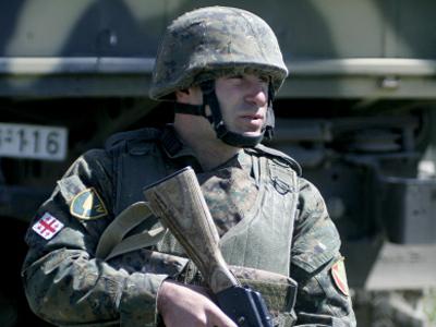 Saakashvili prepares commandos ahead of 2012 elections