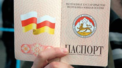 Putin pledges constant help to South Ossetia president
