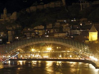 An historical part of Tbilisi  (Reutersi / David Mdzinarishvili)