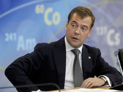 """""""We have good record in fighting crisis"""" – Medvedev"""