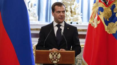 Parliament approves Medvedev's candidacy for premiership