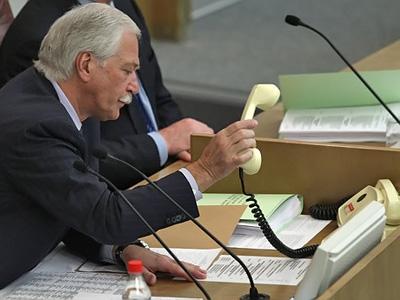 State Duma Speaker Boris Gryzlov (RIA Novosti / Vladimir Fedorenko)