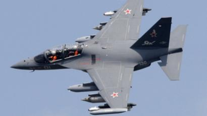Yak-130 aircraft, one of many weapons supplied to Syria by Russia RIA Novosti / Anton Denisov