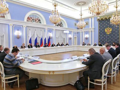 Presidential Council for Civil Society and Human Rights. Gorki residence. (RIA Novosti / Ekaterina Shtukina)