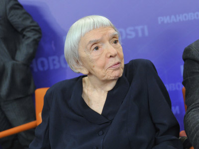 Head of the Moscow Helsinki Group Lyudmila Alekseyeva (RIA Novosti/Alexander Utkin)