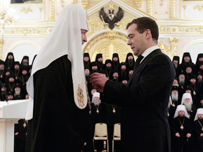 Interconfessional dialogue pledge of ethnic peace – Medvedev